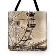 Fun Ferris Wheel Tote Bag
