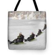 Fun In The Snow Tote Bag by Susan Candelario
