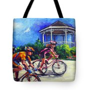 Fun Time In Bicycling Tote Bag