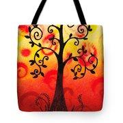 Fun Tree Of Life Impression IIi Tote Bag