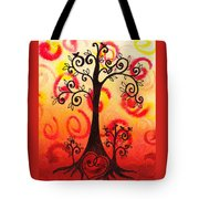 Fun Tree Of Life Impression Vi Tote Bag
