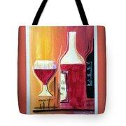 Fun Wine Time Tote Bag