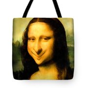 Fun With Mona Lisa Tote Bag