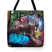 Function Junction Train Wreckage Tote Bag