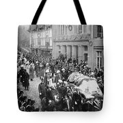 Funeral Of Queen Victoria Tote Bag