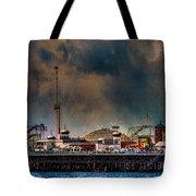 Funfair On The Pier Tote Bag