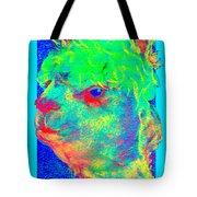 Funky Alpaca Baby Tote Bag
