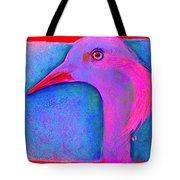 Funky Demoiselle Crane Bird Art Prints Tote Bag