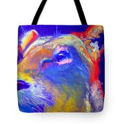 Funky Lioness Jungle Queen Tote Bag