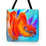 Funky Rhino African Jungle Tote Bag