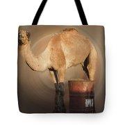 Funny Beduin Camel Talk  Tote Bag