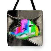 Funny Face Tote Bag by Andee Design