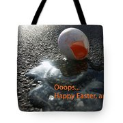 Funny Greeting Card For Easter Tote Bag