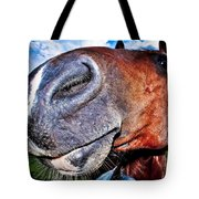 Funny Horse Tote Bag