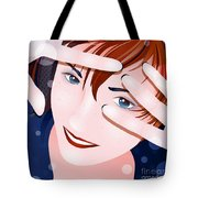 Funny II Tote Bag by Sandra Hoefer