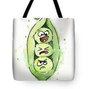 Funny Peas In A Pod Tote Bag