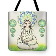 Fureai Quan Yin In Kyoto Tote Bag