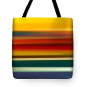 Fury Seascape Panoramic 2 Tote Bag by Amy Vangsgard