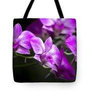 Fushia Orchid Tote Bag