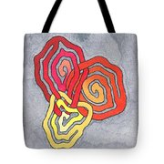Fusion Of Colors Tote Bag