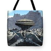 Future Pod City Tote Bag
