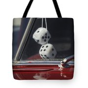 Fuzzy Dice 2 Tote Bag