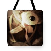 Fuzzy Drummer Tote Bag