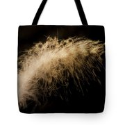 Fuzzy Feather Tote Bag
