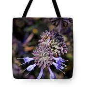 Fuzzy Purple 1 Tote Bag