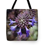 Fuzzy Purple 2 Tote Bag