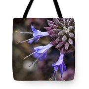 Fuzzy Purple Detail 1 Tote Bag