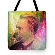 F.w. Nietzsche Tote Bag by Taylan Apukovska