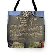 Ga-005-16 Provost Guard Campsite Tote Bag