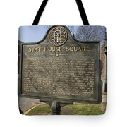 Ga-005-19 Statehouse Square Tote Bag