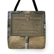 Ga-005-1b Old Governors Mansion Tote Bag