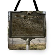 Ga-029-18 The Red And Black Tote Bag