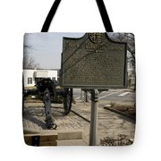Ga-029-5 The Athens Double-barrelled Cannon Tote Bag