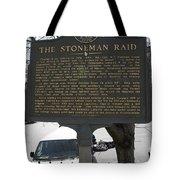 Ga-029-6 The Stoneman Raid Tote Bag