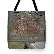 Ga-104-1 Joshua Hill Home Tote Bag