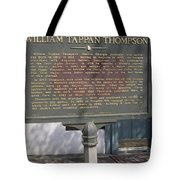 Ga-104-11 William Tappan Thompson Tote Bag