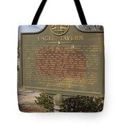 Ga-108-5 Eagle Tavern Tote Bag