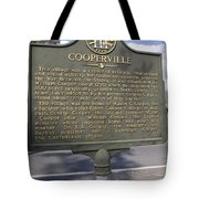 Ga-124-13 Cooperville Tote Bag by Jason O Watson
