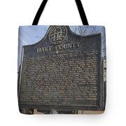 Ga-73-4 Hart County Tote Bag