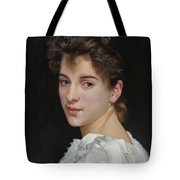 Gabrielle Cot After W. Bougereau Tote Bag