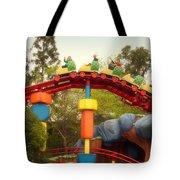 Gadget Go Coaster Disneyland Toontown Tote Bag