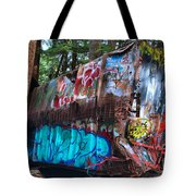 Gaffiti In The Candian Forest Tote Bag
