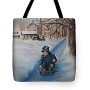 Gails Christmas Adventure Tote Bag