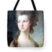 Gainsborough's The Hon. Mrs. Thomas Graham Up Close Tote Bag