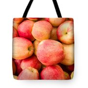 Gala Apples On Display Tote Bag