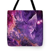 Galactic Angel - Rose Tote Bag